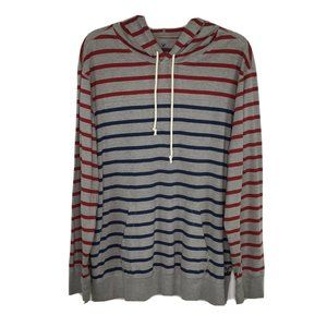 American Eagle Classic Fit Long Sleeve Hooded Tee